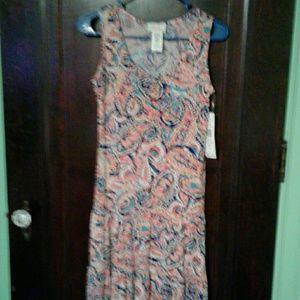 Cute sleeveless summer dress.